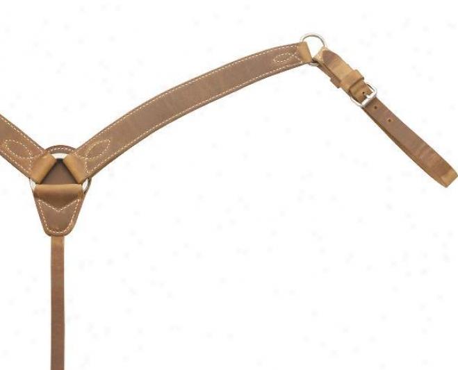 Saddlesmith Of Texas Harness Leather Bosom Collar - Harness - Horse