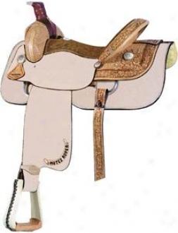 Sadlesmith Of Texas Motes 1/2 Breed Roper Saddle