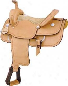 Saddlesmith Of Texas Motess Barbed Wire Roper Saddle