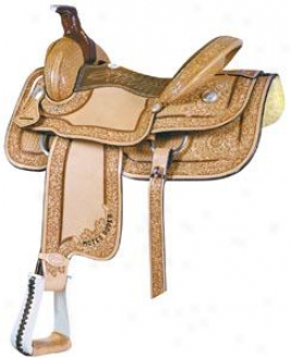 Saddlesmith Of Texas Motez Borded Tool Roper Saddle