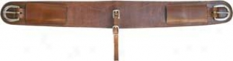 Saddlesmith Of Texas Roper Flank Girth - Pecan - 4 Wide