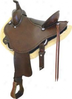 Saddlesmith Of Texas Stealth Trail Saddle