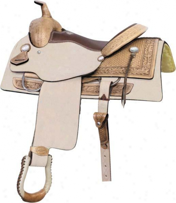 Saddlesmith Of Texss Texas T Penner Saddle - Fool Gold - 16