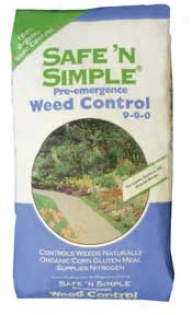 Safe N Simple Weed Cont 50# 1 - 50 Pounds
