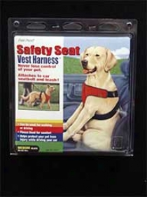 Safeyy Seat Vest Safety Harness Conducive to Dogs
