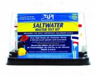 Saltwater Master Liquid Test Kit - 4 Different Tests