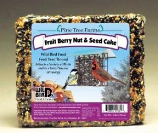 Seed Cake - Fruit/nut - 2.5 Pound