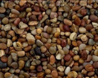 Shallow Creen Nayural Gravel For Aquariums - 5lb Bav