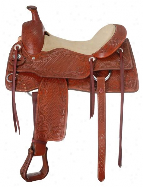 Soft and clear  Royal Mesquite Cutter Saddle