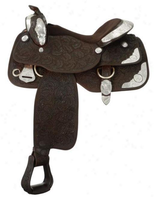 Silver Royal Premier Contender Saddle