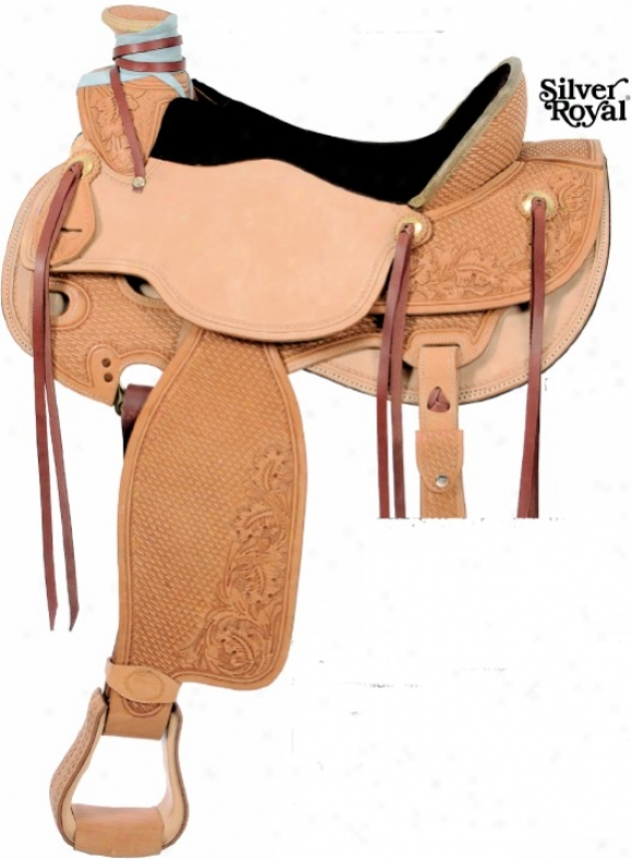 Silver Royal Wade Pleasuure Saddle