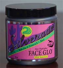 Silverado Face Glo For Horses - Natural/tan - 8oz