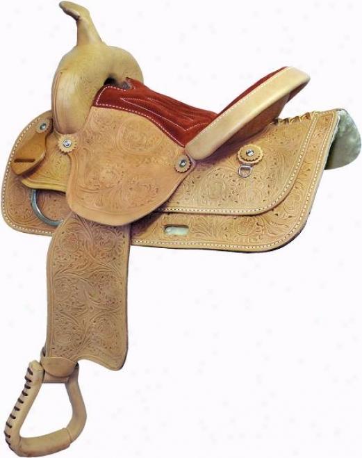 Simco Floral Pleasure Saddle - Natural - 17