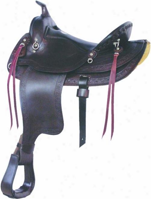 Simco Mule Man Saddle - Show Walnut - 16