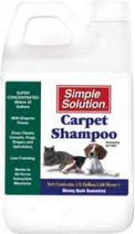Simple Solution Carpet Shampoo - Half Gallon