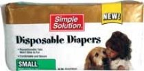 Simple Solution Disposable Diapers - Small