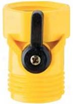 Single Hose Shutoff - Yellow