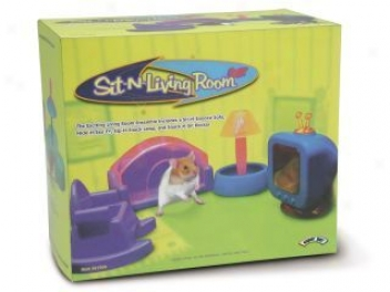 Sit N Livingg Room Set For Small Animal Cages - Multicolor