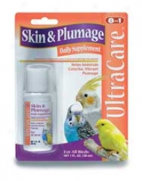 Skin And Plumage Liquid Supplement - 1oz