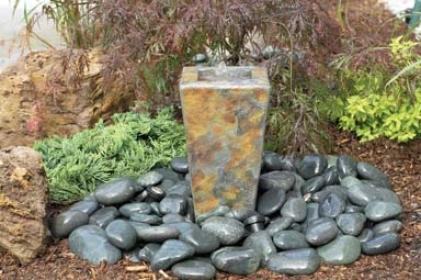 Slate Fountain - 16h, 6-9w