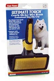 Slicker Wire Brush - Black And Yellow - Medium