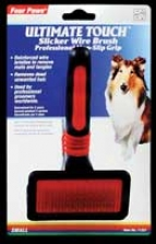 Slicker Wire Brush - Red And Black - Small