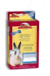 Small Animal Cage Liner Pads