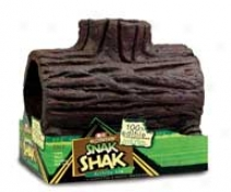 Snak Shap Log House For Guinea Pigs/rabbits - Large