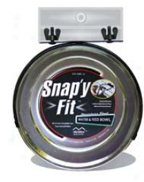 Snap'y Bowl For Animal Cages - 2 Quart