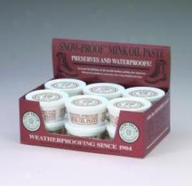 Snow Proof Mink Oil Paste - 3 Ounces