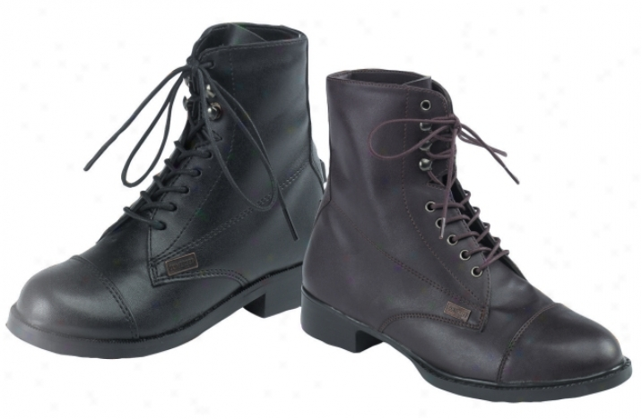 Somerset Equi-leather Lace-up Paddocks
