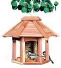 Songbird Pavilion Feeder - Natural