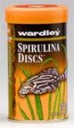Spirulina Discs Food For Bottom Feeding Fish/algae Eaters - 4 Oz
