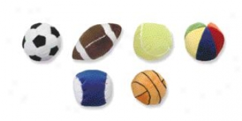 Sport Balls Display - 96 Pack