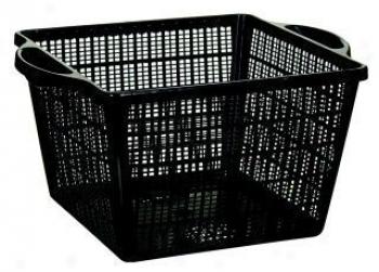 Square Decorative Basket For Pond Use