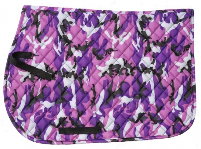 Square Quilted Cotton Camo English Pads