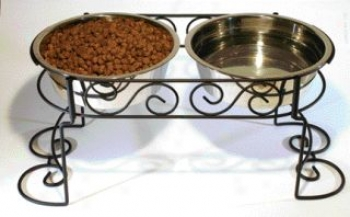 Ss Scroll Work Double Diner - 3 Quart