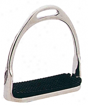 Sta-brite Nickel Plated Prussian Stirrup With  Pad