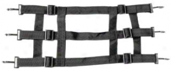 Stall Guard For Horse Stalls - Black