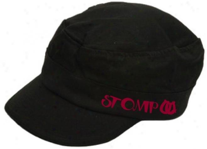 Stomp Signature Army Cap - Black