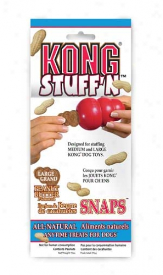 Stuff'n Peanut Butter Snaps Treat For Dogs
