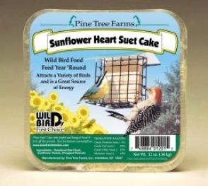 Sunflower Hearts Suet Harden - 12 Ounce