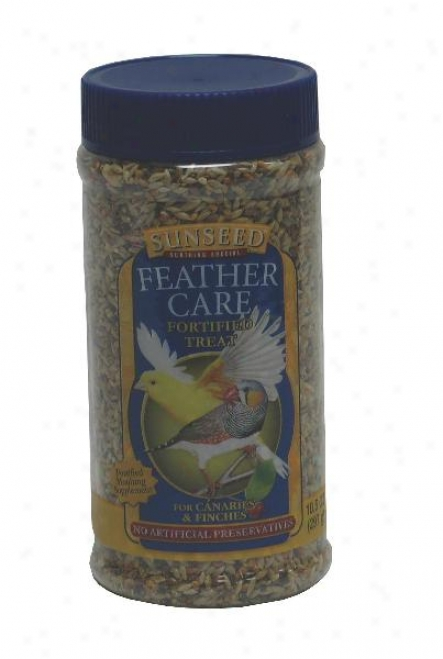 Sunseed Feather Care Treat For Canary/finch - 10.5 Oz