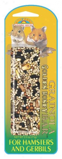 Sunseed Grainola Golden Honey For Hamsters And Gerbils - 2.5 Oz