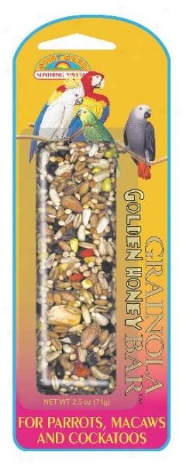 Sunserd Grainola Golden Honey For Large Hookbills - 2.5 Oz