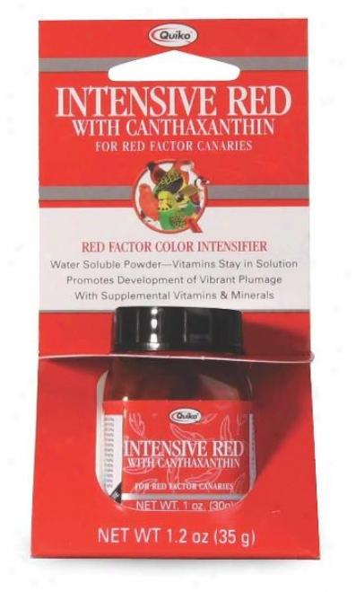 Sunseed Quiko Intensive Red Bird Supplement - 35 Gram