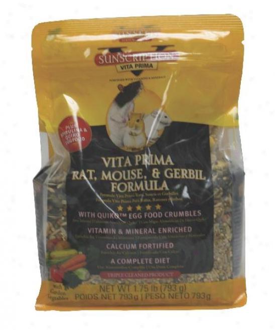 Sunxeed Sunseed Vita Priima Rat, Mouse And Gerbli Food