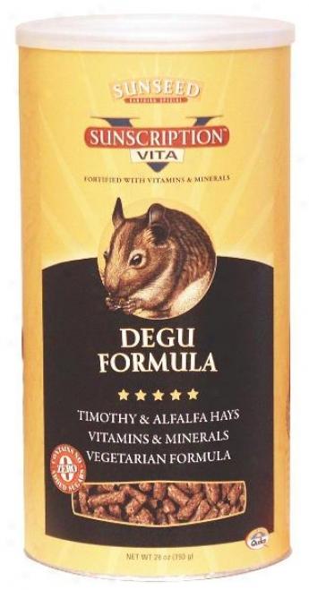 Sunseed Vita Degu Formula - 28 Oz