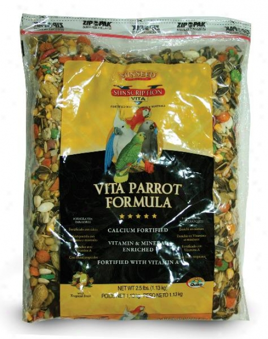 Sunseed Vi5a Parrot Food
