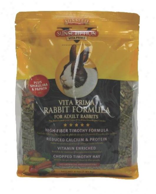 Sunseed Vita Prima Adult Rabbit Food